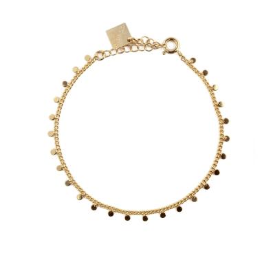 Bracelet Pépites doré à l'or fin