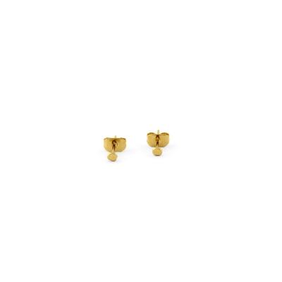 Boucle d'oreille Dusty dorée à l'or fin