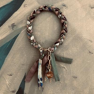 Bracelet MANO bleuté
