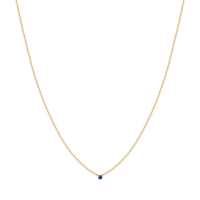 Collier Secret capri blue